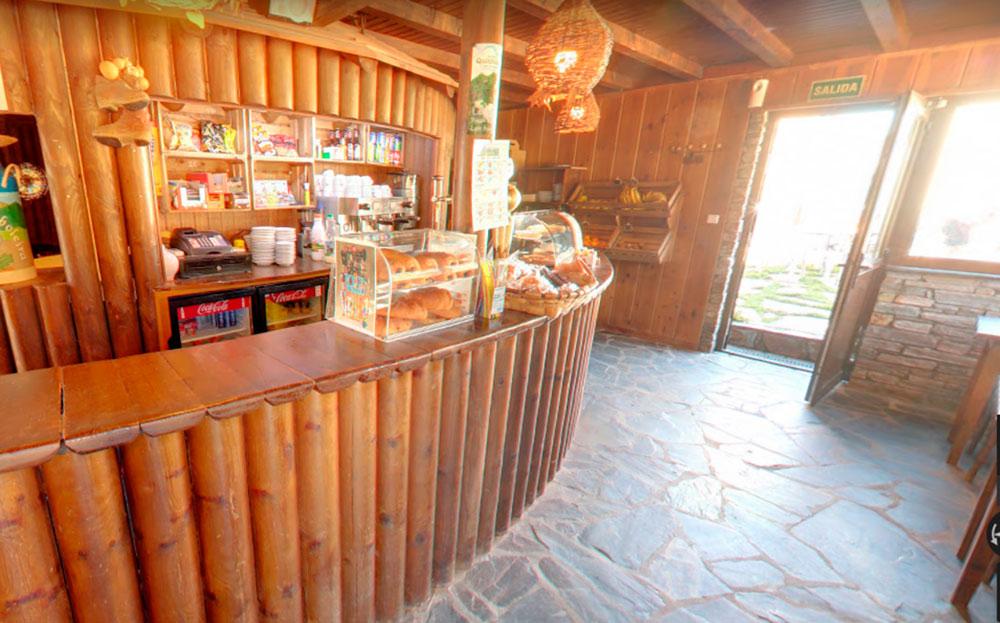 bar snack cafetería