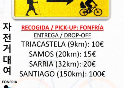 Alquiler de Bicicletas Fonfría Santiago de Compostela